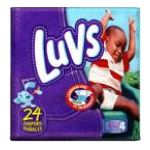 Luvs - Diapers 37 lb, 24 diapers 0037000646686  / UPC 037000646686