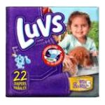 Luvs - Diapers 27 lb, 22 diapers 0037000646693  / UPC 037000646693
