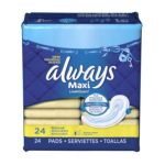 Always -  Maxi Pads 24 pads 0037000663812
