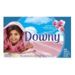 Downy - Fabric Softener Sheets 12 boxes / case 0037000800651  / UPC 037000800651
