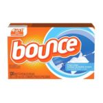 Bounce - Fabric Softener Sheets Fresh Linen 120 sheets 0037000802532  / UPC 037000802532
