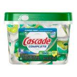 Cascade - Complete All In 1 Lemon Burst Scent Dishwasher Detergent 0037000803942  / UPC 037000803942