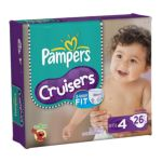 Pampers - Cruisers Diapers Jumbo Pack 37 lb, 26 diapers 0037000810384  / UPC 037000810384
