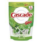 Cascade - Actionpacs Gain Scent Dishwasher Detergent 32 ct 0037000812616  / UPC 037000812616