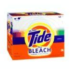 Tide - Plus Bleach Powder Laundry Detergent Original Scent 53 Loads 0037000815235  / UPC 037000815235
