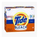 Tide - Plus Bleach He Powder Laundry Detergent Original Scent 53 Loads 0037000815259  / UPC 037000815259
