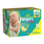 Pampers - Baby Dry Diapers Super Pack Size Newborn 0037000818762  / UPC 037000818762