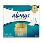 Always - Infinity Pads With Flexi-wings Twin Pack Unscented Regular 0037000827733  / UPC 037000827733