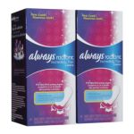 Always - Radiant Incredibly Thin Daily Liners Unscented 128 liners 0037000828082  / UPC 037000828082
