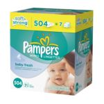 Pampers - Baby Fresh Wipes Refill 0037000836759  / UPC 037000836759
