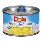 Dole - Pineapple Chunks 0038900004699  / UPC 038900004699