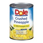 Dole - Pineapple Crushed In 100% Pineapple Juice 0038900006136  / UPC 038900006136