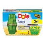 Dole - Fruit Bowls Pineapple In Lime Gel 0038900030315  / UPC 038900030315