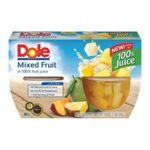 Dole - Mixed Fruit In 100% Fruit Juice 0038900030605  / UPC 038900030605