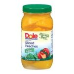 Dole - Peaches Sliced Yellow Cling In 100% Juice 0038900030988  / UPC 038900030988