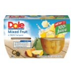 Dole - Mixed Fruit In Light Syrup 0038900040000  / UPC 038900040000