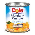 Dole - Mandarin Oranges 0038900042059  / UPC 038900042059