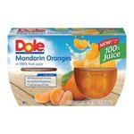Dole - Mandarine Oranges Fruit Bowl In Light Syrup 4 Cups 0038900042073  / UPC 038900042073