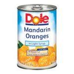 Dole - Mandarin Oranges Whole Segments In Light Syrup 0038900042158  / UPC 038900042158
