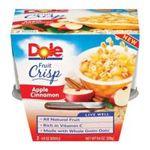 Dole - Fruit Crisp Apple Cinnamon 0038900043018  / UPC 038900043018