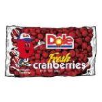 Dole - Cranberries 12 0038900071769  / UPC 038900071769