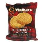 Walkers - Pure Butter Shortbread Rounds 0039047001480  / UPC 039047001480