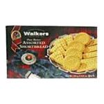 Walkers - Pure Butter Assorted Shortbread 0039047012608  / UPC 039047012608