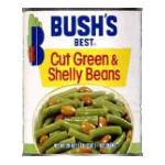Bush's best -   None Cut Green & Shelly Beans 0039400010159 UPC 03940001015