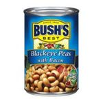 Bush's best - Recipe Beans - Blackeye Peas With Bacon 0039400013587  / UPC 039400013587