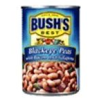 Bush's best - Recipe Beans - Blackeye Peas with Bacon & Jalapeño 0039400013624  / UPC 039400013624