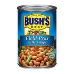 Bush's best - Recipe Beans - Field Peas With Snaps 0039400013877  / UPC 039400013877