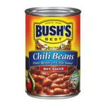 Bush's best -   None Chili Beans With Hot Sauce 0039400016816 UPC 03940001681
