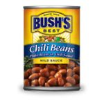 Bush's best - Recipe Beans - Chili Beans 0039400016908  / UPC 039400016908