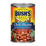 Bush's best -   None Chili Beans 0039400016984 UPC 03940001698