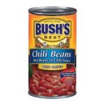 Bush's best - Red Beans In Chili Sauce Mild Chili Beans 0039400016991  / UPC 039400016991