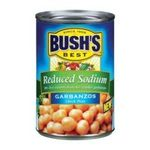 Bush's best - Recipe Beans - Garbanzos Reduced Sodium 0039400017066  / UPC 039400017066