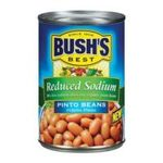 Bush's best - Recipe Beans - Pinto Beans Reduced Sodium 0039400018070  / UPC 039400018070