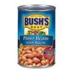 Bush's best - Recipe Beans - Pinto Beans With Bacon 0039400018216  / UPC 039400018216