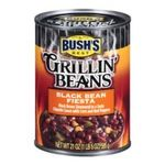Bush's best - Grillin' Beans - Black Bean Fiesta 0039400019206  / UPC 039400019206