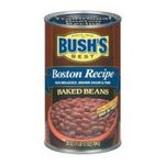 Bush's best - Baked Beans - Boston Recipe Baked Beans 0039400019565  / UPC 039400019565