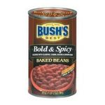 Bush's best - Baked Beans - Bush Brothers & Co. | Bush's Best Baked Beans Bold & Spicy - 12 Pack 0039400019602  / UPC 039400019602