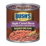 Bush's best - Baked Beans - Maple Cured Bacon Baked Beans 0039400019695  / UPC 039400019695