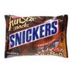 Snickers - Fun Size Snacks Big Bag 0040000151463  / UPC 040000151463