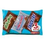 Mars Mix chocolate bar - Classic Mix Variety Bag Milky Way 3 Musketeers And Snickers 0040000151852  / UPC 040000151852