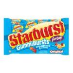 Starburst - Gummibursts Liquid Filled Gummies Assorted 0040000162667  / UPC 040000162667