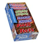 Mars Mix chocolate bar - Incorporated Variety Pack 0040000213437  / UPC 040000213437