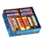 Mars Mix chocolate bar - Candy Chocolate Variety Pack 0040000214205  / UPC 040000214205