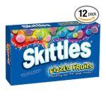 Skittles - Fizzl'd Fruits Theatre Box Boxes 0040000349112  / UPC 040000349112
