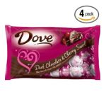 Dove Chocolate Discoveries - Valentine's Heart Promises Dark Chocolate And Cherry Swirl Packages 0040000413691  / UPC 040000413691