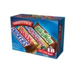 Mars Mix chocolate bar - Mars Full Size Bar Variety Pack 0040000418467  / UPC 040000418467